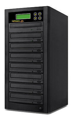 Copystar 1-7 24x Sata Cd Dvd Duplicator Machine Copier Du...