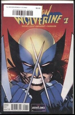 ALL NEW WOLVERINE #1 / 1ST PRINT / TOM TAYLOR SERIES X-23 NM
