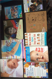Pregnancy & Parenting Books and dvds Kirrawee Sutherland Area Preview