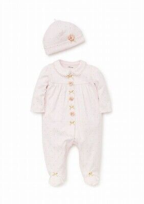Little Me Baby Girls Outfit Pink Size 6 Months Beanie Shimmer One Piece $34 728