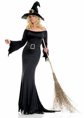 nue Kostüm HEXE Karneval Costume Halloween schwarz -  S/M (K3 Halloween)