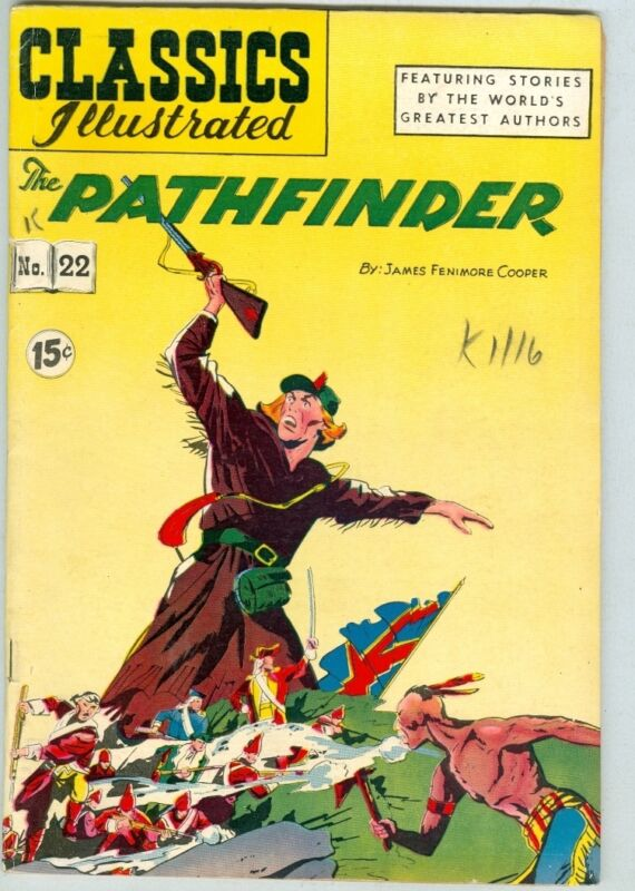 Classics Illustrated #22 VG/FN HRN 85 The Pathfinder