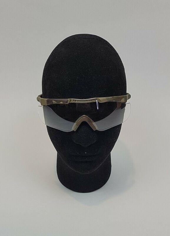 Smith Optics Aegis Arc Compact Eyeshield Multicam Frame Clear Grey Lens...