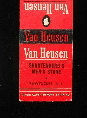 1940s Men's Shirts, Sweaters, Vests 1940s Van Heusen Shirts Shartenberg's Men's Store Pawtucket RI Providence Co MB $5.05 AT vintagedancer.com