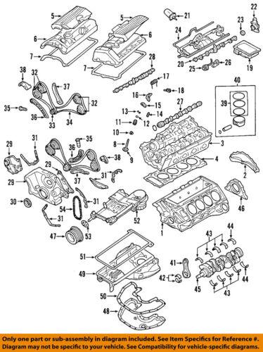 BMW OEM 04-06 X5-Engine Connecting Rod Bearing 11247540363