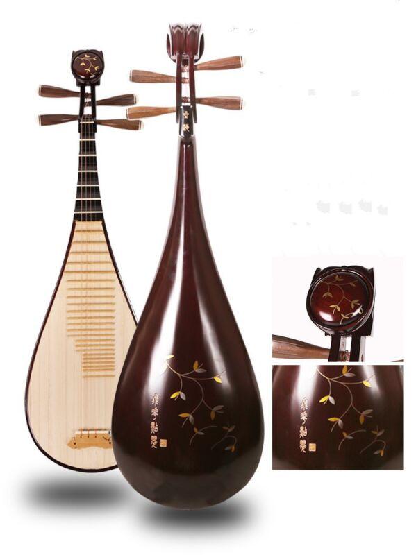 Aged Rosewood Chinese Soprano Pipa Lute Guitar Xinghai Brand liuqin #4129