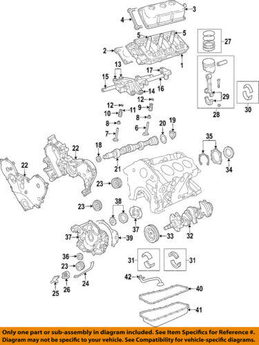 mazda 3 0 v6 engine diagram head casket chrysler oem engine cylinder head gasket 4792753ae ebay  chrysler oem engine cylinder head