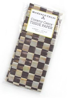 MacKenzie-Childs Courtly Check Tissue Paper
