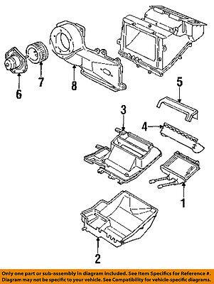 GM OEM-Hvac Heater Core 52470156