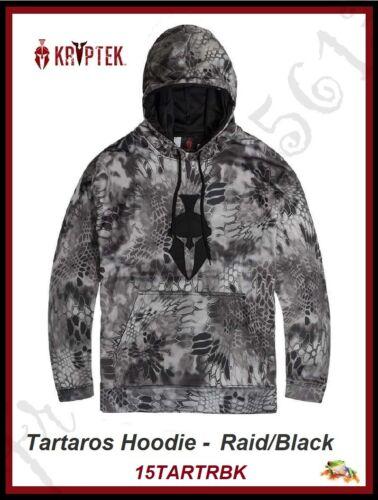 KRYPTEK Tartaros Hoodie - Raid/Black Tartaros Hooded Sweatshirt - 15TARTRBK