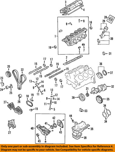 kia oem 05-10 sportage-engine oil pan 2151037111 | ebay  ebay