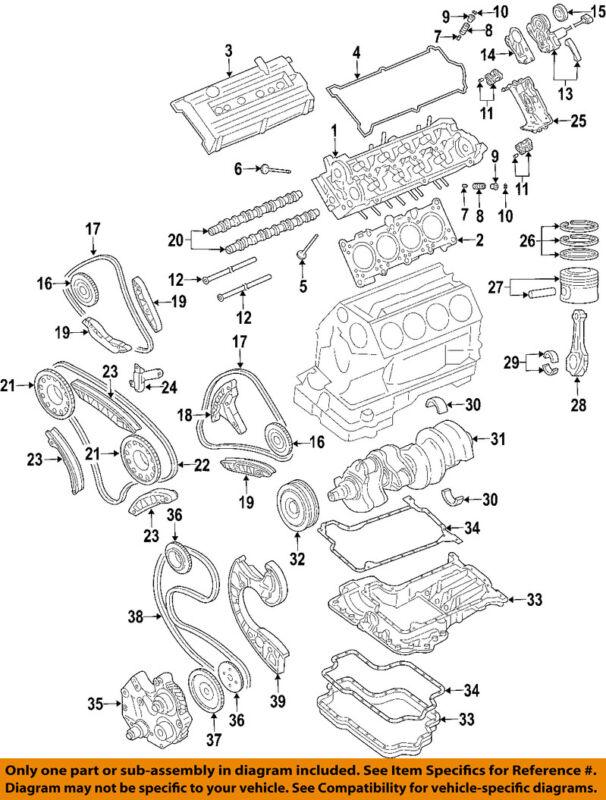 Audi Oem 2004 Allroad Quattro-engine Cylinder Head 079103063rx