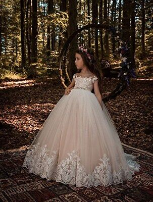 Kids Lolita Flower Girl Dresses For Wedding First Communion Princess Party Gifts](Gifts For First Communion Girl)