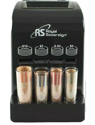 Royal Sovereign 1 Row Battery Operated Coin Sorter Dcb-175b
