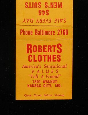 1950s Mens Suits & Sport Coats | 50s Suits & Blazers 1950s Roberts Clothes $45 Men's Suits 1301 Walnut Kansas City MO Jackson Co MB $4.62 AT vintagedancer.com