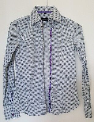 jared lang womens shirt size s - abstract flower pattern