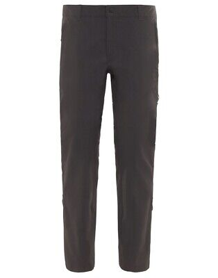 The North Face Exploration Trousers Hiking Walking Size 30 Ashphalt Grey