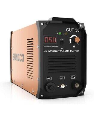 Suncoo 50 Amp Plasma Cutter 110220v Portable Pro Dual Voltage Cutting Machine