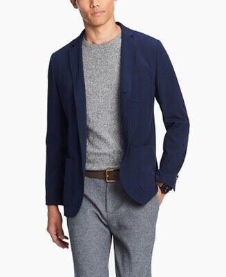 Tommy Hilfiger Mens Jacket Navy Blue Size Large L Three-Button $199 #134