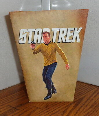 Star Trek Popcorn Box 1. William Shatner Leonard Nimoy......free Shipping