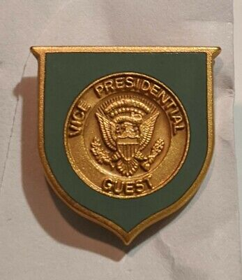 US Vice Presidential Guest Lapel Pin #220 Vintage American United States  -