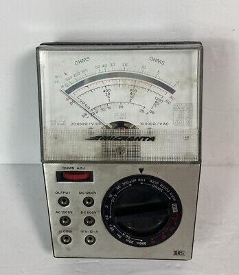 Micronta Multitester 22-202a 25 Range Radio Shack Multimeter Manual Vintage