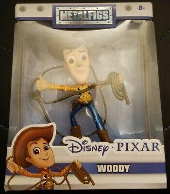 """""""NEW"""" Disney Pixar MetalFigs Toy Story Woody 4"""" Metal Figure Jada Toys 98346"""