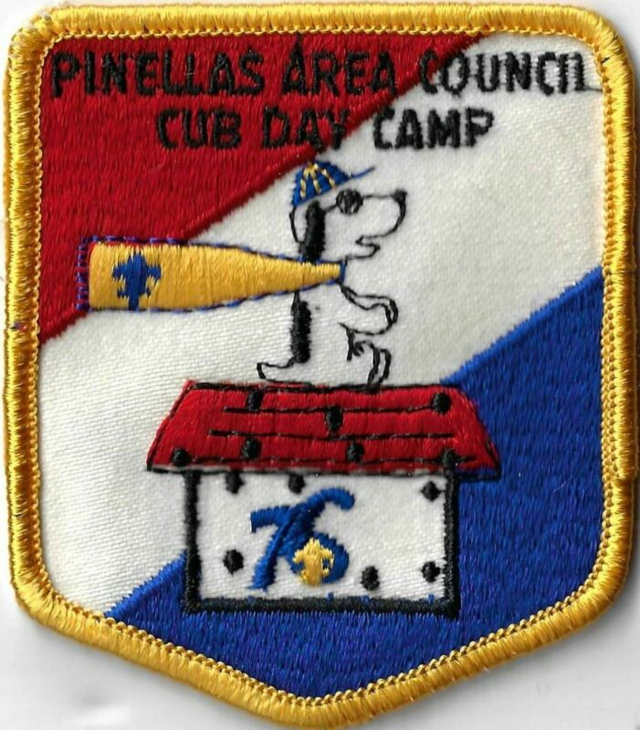 76 Snoopy Cub Day Camp Pinellas Area Council YEL Bdr. [X-1960]