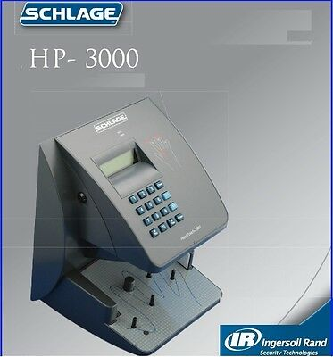 Handpunch 3000 Biometric Time Clock Punch Clock Hand Punch 3000 Ethernet