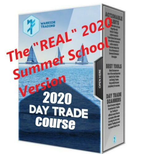 Warrior Trading Summer School 2020 | Includes Large Caps and Options 2020