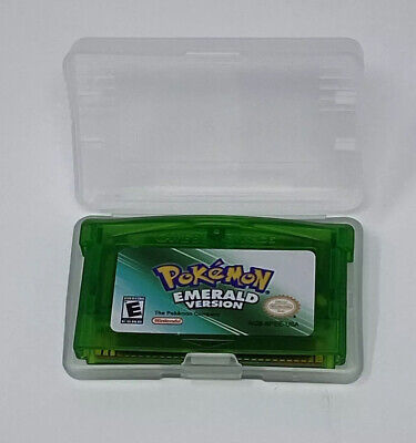 Pokemon Emerald Version Gameboy Advance REPRODUCTION Game Cartridge - TESTED