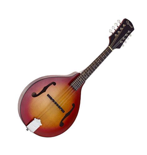 Mandolin Classic A Model Cherry Sunburst Teardrop Shape F holes 2371CS by Ozark
