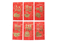 240 Color Chinese New Year Money Envelope HongBao Lucky Money Bag W// Tangerine