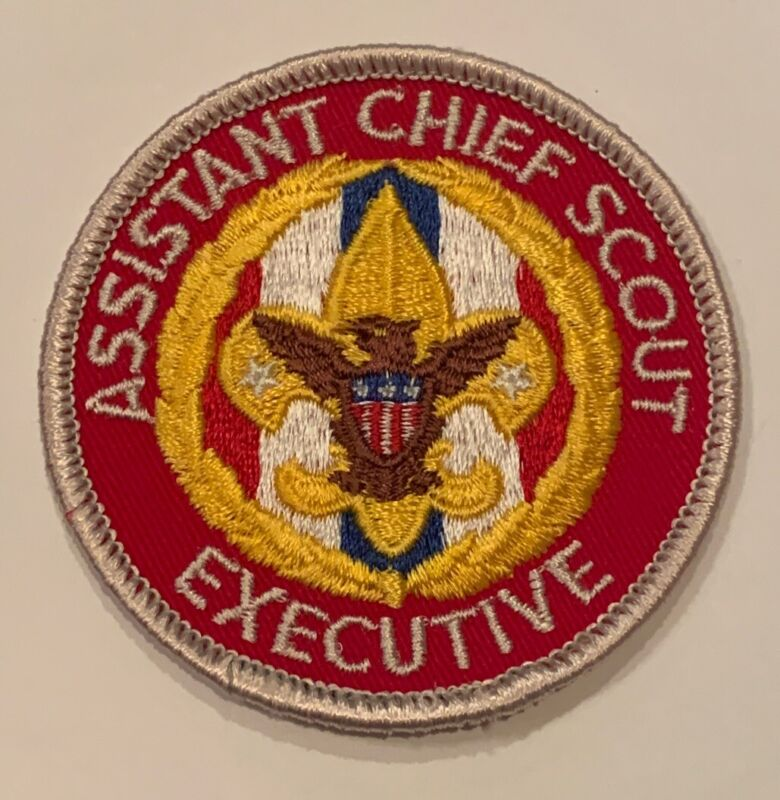 BSA National Office Patch - Assistant Chief Scout Executive Mint