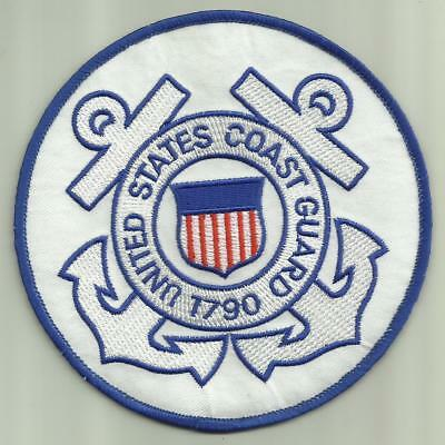 """UNITED STATES COAST GUARD 1790 PATCH 5"""" SAILOR SEARCH&RESCUE HELO BOAT AIRCRAFT"""