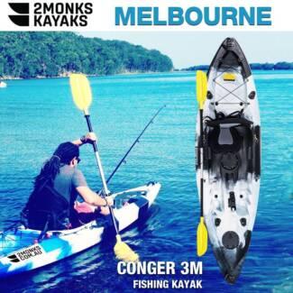 Brand NEW 3m Single Fishing Kayak Canoe *2Monks*