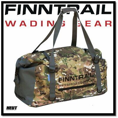 FINNTRAIL ATV / Quad Koffer Tasche Gepäcktasche wasserdicht 80L Camo gebraucht kaufen  Oberlahr