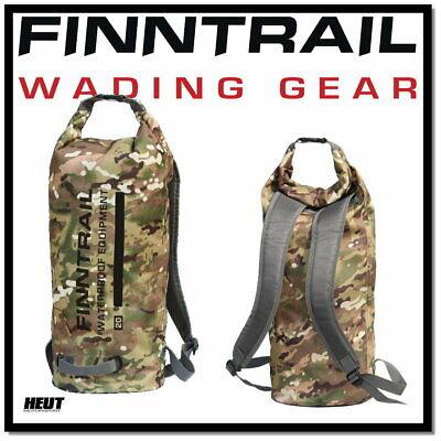 FINNTRAIL ATV / Quad Koffer Gepäcktasche Rucksack wasserdicht 20L Camo , gebraucht gebraucht kaufen  Oberlahr