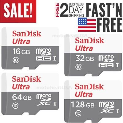 Sandisk 16GB 32GB 64GB 128GB Micro SD Class 10 TF Flash SDHC Memory Card Adapter](sandisk class 10 32gb micro sd)