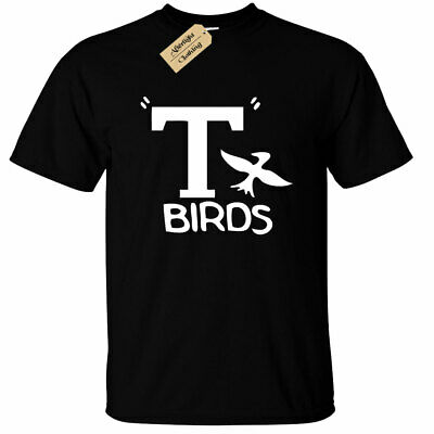 Kinder Jungen Mädchen T Birds T-Shirt Grease - Kind T Bird Kostüm