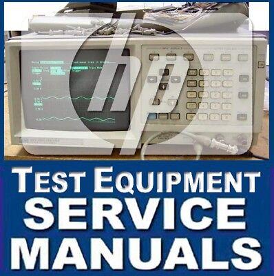 Agilent Hp Test Service Manual Oscilloscope Logic Analyzer Probe Module Guide Cd