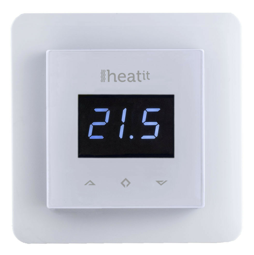THERMOFLOOR - Z-Wave Plus Wall Thermostat HEATIT-White