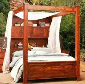 The Library Four Poster Bed Arcadia Hornsby Area Preview