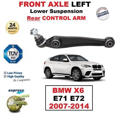 1x FRONT AXLE LEFT HAND Lower SUSPENSION Rear ARM for BMW X6 E71 E72 2007-2014