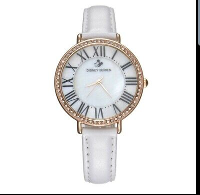 Genuine Disney Roman Type Women Dress Best Quality Leather Antique Watches