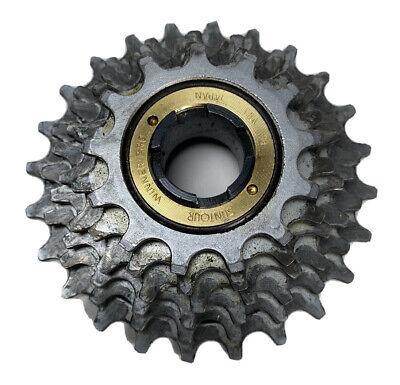 w//Silver Finish 13x19 New-Old-Stock Suntour New Winner 5-Speed Freewheel