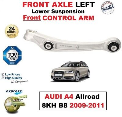 FRONT AXLE LEFT Lower SUSPENSION Front CONTROL ARM for AUDI A4 Allroad 2009-2011