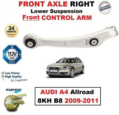 FRONT AXLE RIGHT Lower SUSPENSION Front CONTROL ARM for AUDI A4 Allroad 2009-11