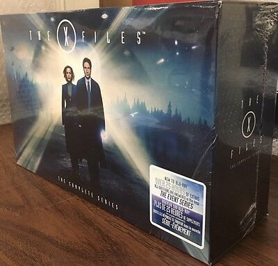 The X Files  Complete Series Collectors Set   The Event Bundle  Blu Ray  New