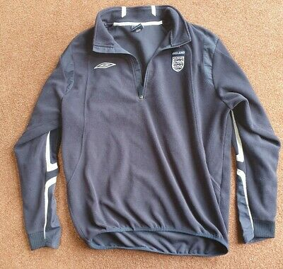 Umbro England Training Fleece navy blue size XL genuine -